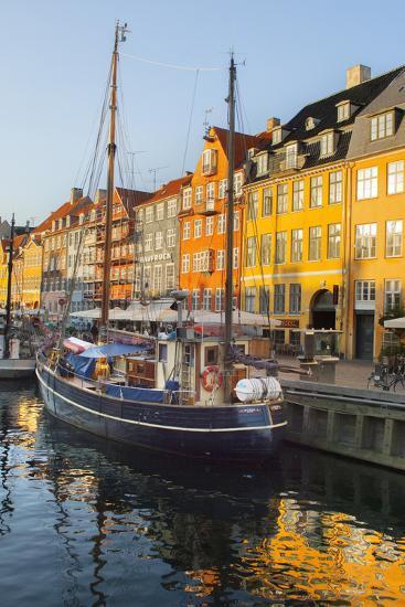 The Old Merchant's Harbour, Copenhagen, Denmark, Europe-Craig Easton-Photographic Print