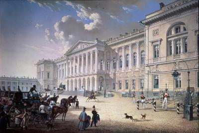The Old Michael Palace in Saint Petersburg, 1832-Karl Petrovich Beggrov-Giclee Print