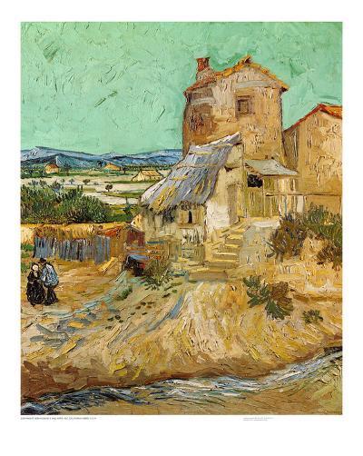 The Old Mill, c.1888-Vincent van Gogh-Art Print