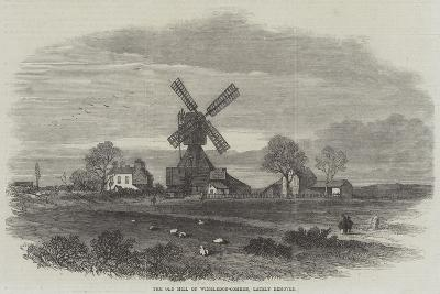 The Old Mill on Wimbledon-Common, Lately Removed--Giclee Print