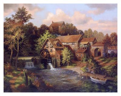 The Old Mill-Klaus Strubel-Art Print