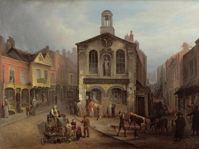 The Old Moot Hall, Leeds, C.1825-Joseph Rhodes-Giclee Print