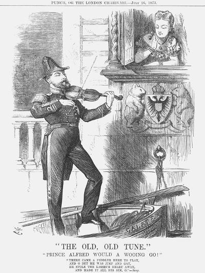 The Old, Old Tune, 1873-Joseph Swain-Giclee Print