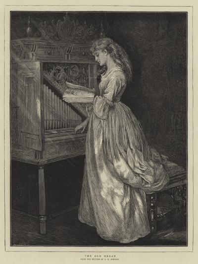The Old Organ-Edward Killingworth Johnson-Giclee Print