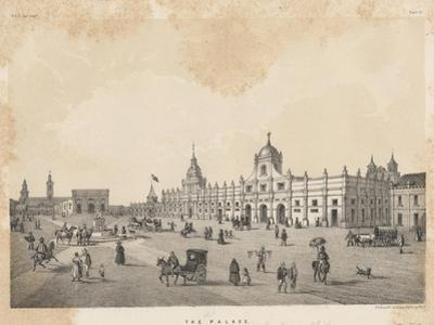 The (Old) Palace, Santiago, Chile, 1855