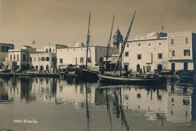 The Old Port of Bizerta, Tunisia, 1936--Photographic Print