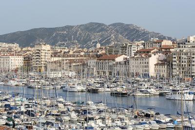 The Old Port of Marseille (Vieux Port) in Marseille, Mediterranean-Chris Hepburn-Photographic Print