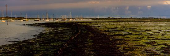 The Old Road, Emsworth, Chichester Harbour, West Sussex, England, United Kingdom, Europe-Giles Bracher-Photographic Print