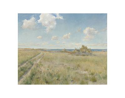 The Old Road to the Sea, c. 1893-William Merritt Chase-Art Print