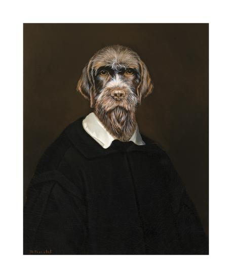 The Old Shepherd-Thierry Poncelet-Premium Giclee Print