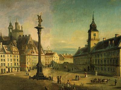 The Old Square, Warsaw, Poland (Detail)-Jan Seidlitz-Giclee Print