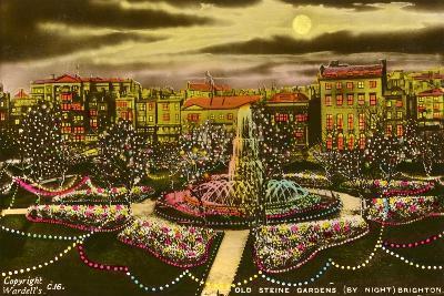The Old Steine Gardens, Brighton, Sussex, C1940--Giclee Print