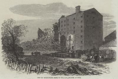 The Old Sugar-House, Scene of the Late Disaster at Hull--Giclee Print