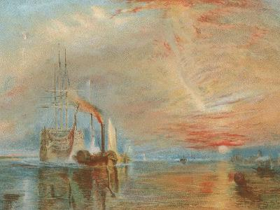 The Old Temeraire Tugged to Her Last Berth-J^ M^ W^ Turner-Giclee Print