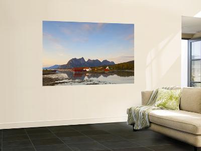 The Old Trading Centre of Kjerringoy, Nordland, Norway-Doug Pearson-Wall Mural