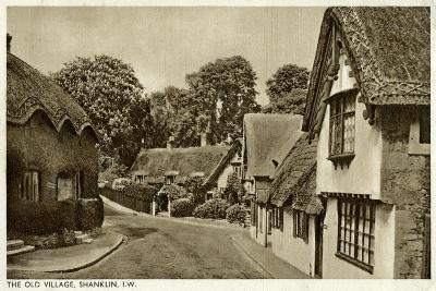 The Old Village, Shanklin, Isle of Wight, 20th Century--Giclee Print