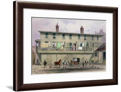 The Old Vine Inn, Aldersgate Street, 1855-Thomas Hosmer Shepherd-Framed Giclee Print