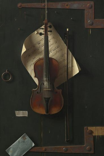 The Old Violin, 1886-William Michael Harnett-Giclee Print