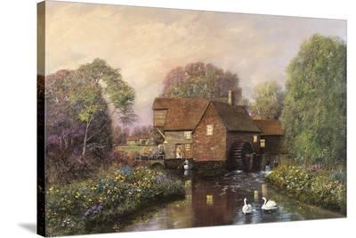 The Old Watermill-Alexander Sheridan-Stretched Canvas Print