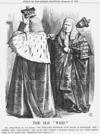 The Old Whip, 1872-Joseph Swain-Giclee Print