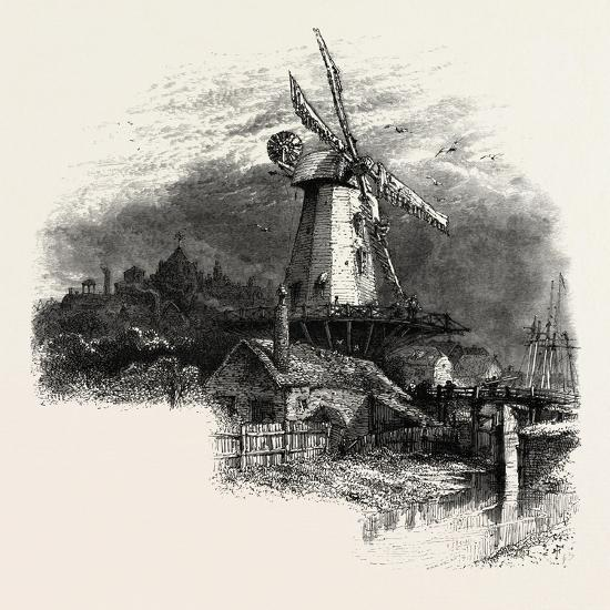 The Old Windmill at Rye, Kent, UK--Giclee Print