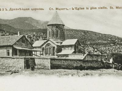 The Oldest Church in St. Mzchette, the Ancient Capital of Grouzie, Armenia--Photographic Print