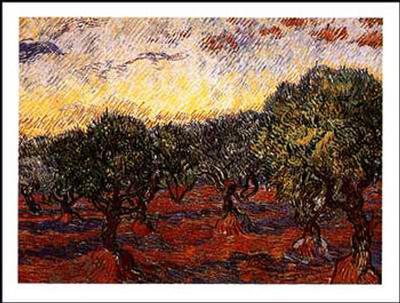 The Olive Grove, c.1889-Vincent van Gogh-Art Print