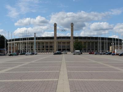 The Olympic Stadium, Berlin, Germany--Photographic Print