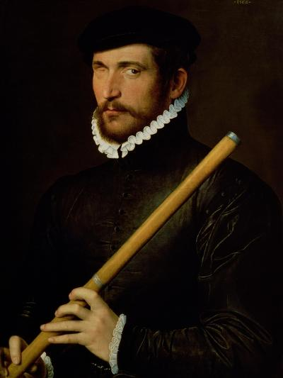 The One-Eyed Flautist, 1566--Giclee Print