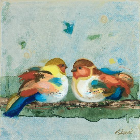 The One Who Sits Beside Me-Ninalee Irani-Art Print