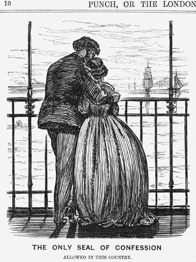 The Only Seal of Confession, 1865--Giclee Print