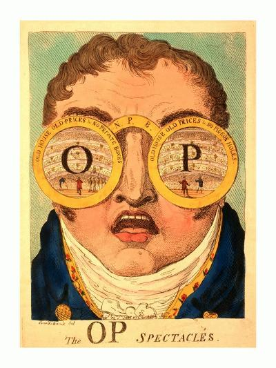 The Op Spectacles--Giclee Print