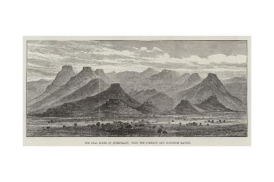The Opal Mines of Queensland, with the Coleman and Mcgregor Ranges--Giclee Print