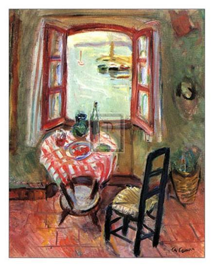 The Open Window-Charles Camoin-Art Print