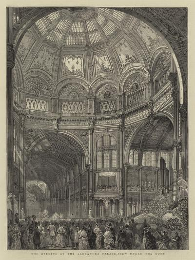 The Opening of the Alexandra Palace, View under the Dome--Giclee Print