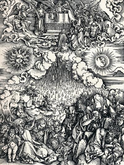 The Opening of the Fifth and Sixth Seals, 1498-Albrecht D?rer-Giclee Print