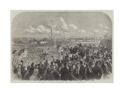 The Opening of the People's Park, Farnworth, Near Bolton, Lancashire--Giclee Print