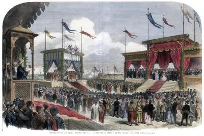 The Opening of the Suez Canal, Port Said, Egypt, 17 November 1869--Giclee Print