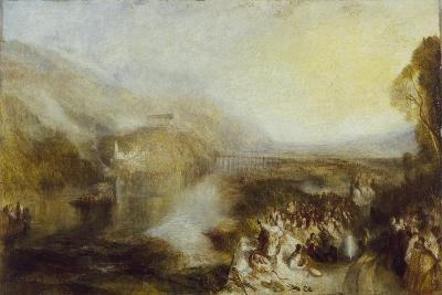 The Opening of the Wallhalla, 1842-J^ M^ W^ Turner-Giclee Print
