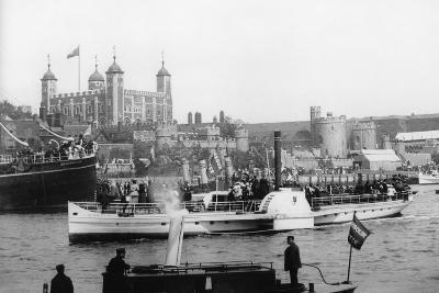 The Opening of Tower Bridge, London, 1894--Photographic Print
