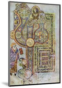 The Opening Words of St Matthew's Gospel, 800 Ad
