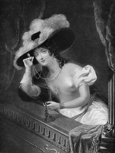 The Opera, Late 18th-Early 19th Century-AW Huffam-Giclee Print