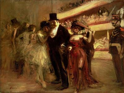 The Opera Stage-Jean Louis Forain-Giclee Print