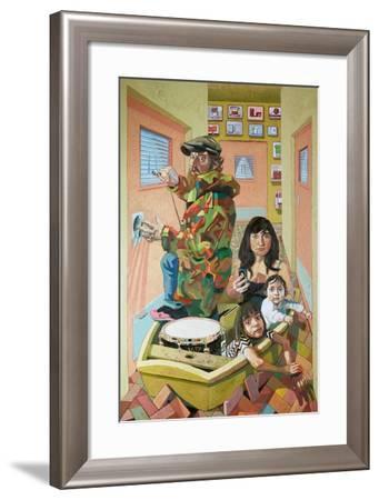 The Optimists-Thomas MacGregor-Framed Giclee Print
