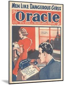The Oracle, Pulp Fiction Secretaries Magazine, UK, 1938