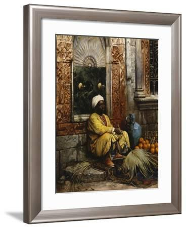 The Orange Seller, 1882-Ludwig Deutsch-Framed Giclee Print