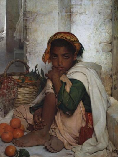 The Orange Seller-Felix-Auguste Clement (Circle of)-Giclee Print