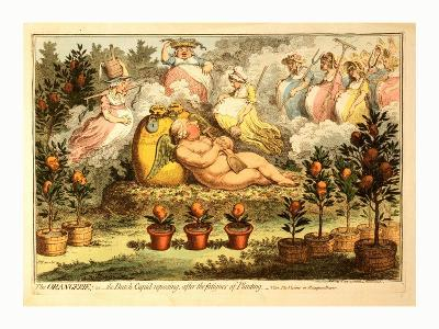 The Orangerie or the Dutch Cupid Reposing after the Fatigues of Planting--Giclee Print