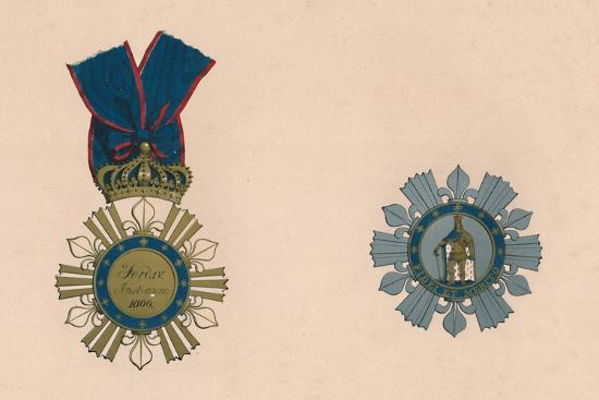 'The Order of St. Ferdinand and of Merit', c19th century-Unknown-Giclee Print