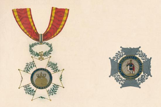 'The Order of St. Ferdinand of Spain', c19th century-Unknown-Giclee Print